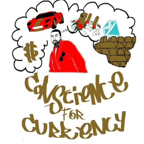 Camden Hip Hop Artist DAMIAN JOHNSON Mixtape Album Conscience For Currency