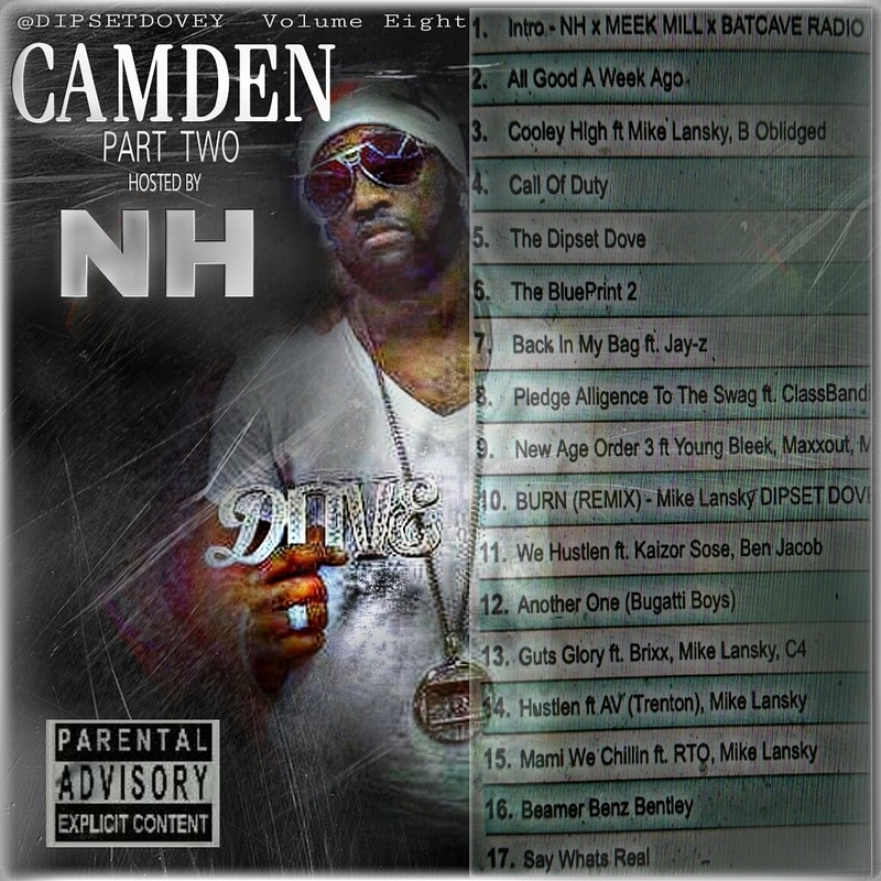 Camden Hip Hop Artist Dipset Dove Mixtape Album Part 8