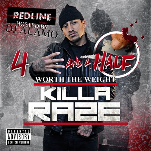 Camden Hip Hop Artist Killa Raze Mixtape Album 4 And A Half Worth The Weight