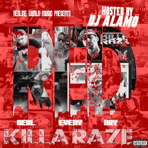 Camden Hip Hop Artist KILLA RAZE Mixtape Album RED Real Every Day