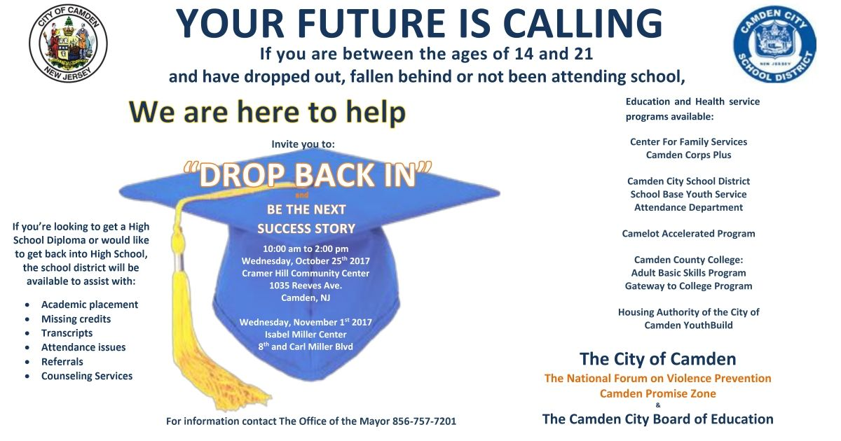 camden,education, learning, high school, boe, camden district, ged, diploma, residents