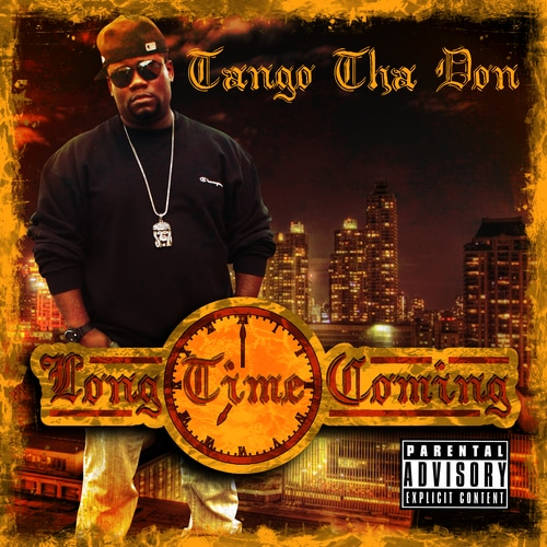 Camden Hip Hop Artist TANGO THA DON Mixtape Album Long Time Coming